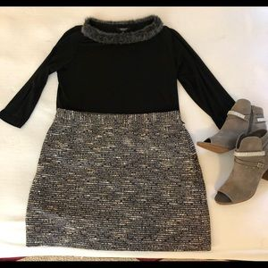 *NWOT* Metallic Tweed Mini Tommy Hilfiger